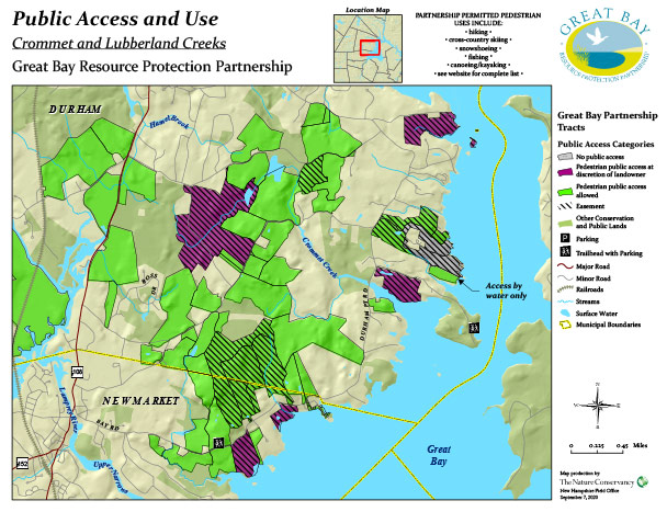 Crommet & Lubberland access map