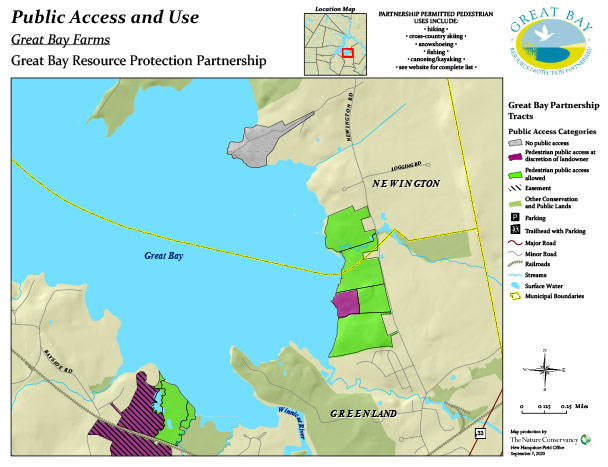 Great Bay Farms access map
